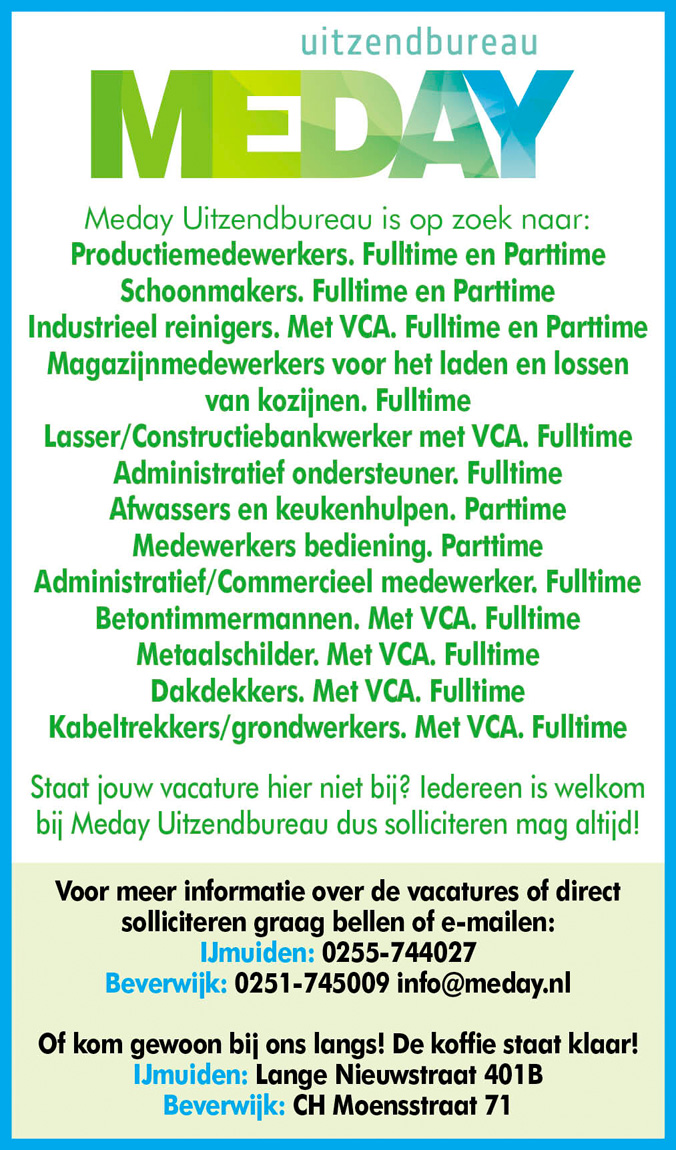 Vacature Lasser/constructiebankwerker met VCA.