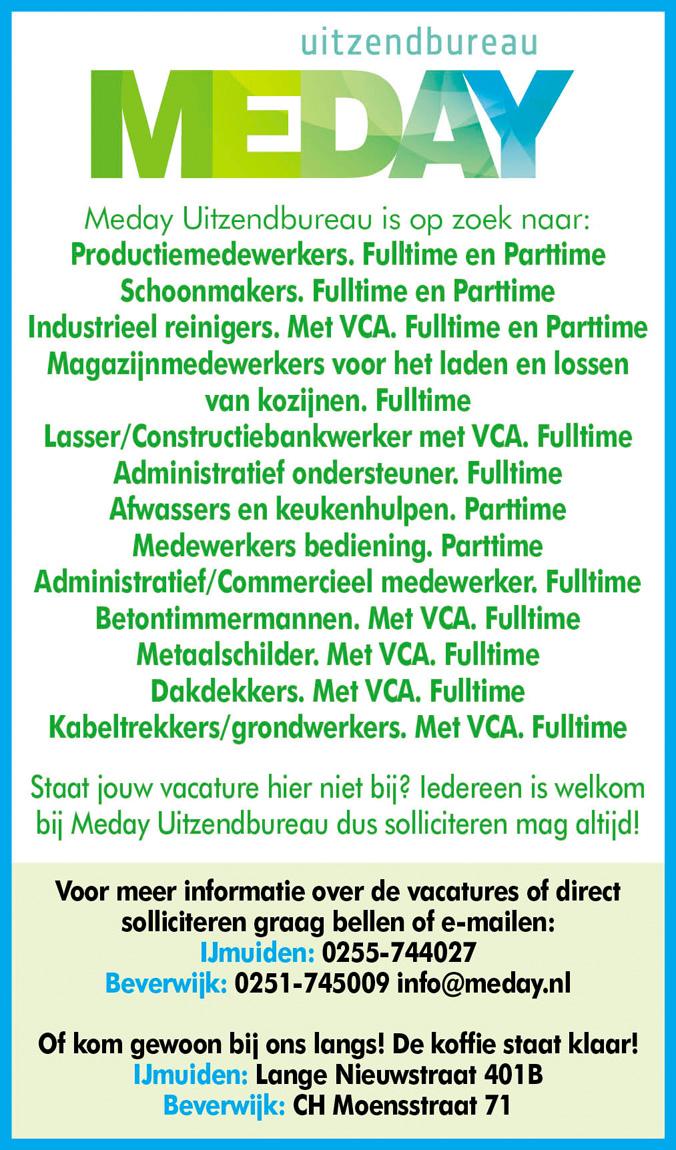 Vacature Administratief/Commercieel medewerker