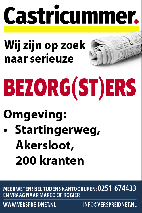 Vacature Bezorgers/sters