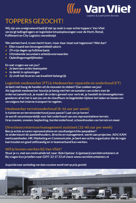 Vacature Toppers