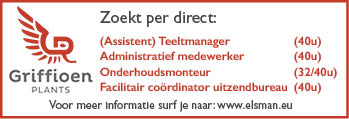 Vacature (Assistent) Teeltmanager