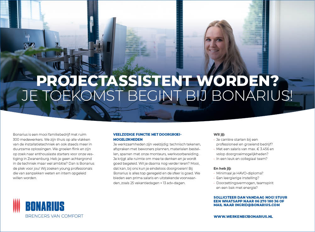 Vacature Projectassistent