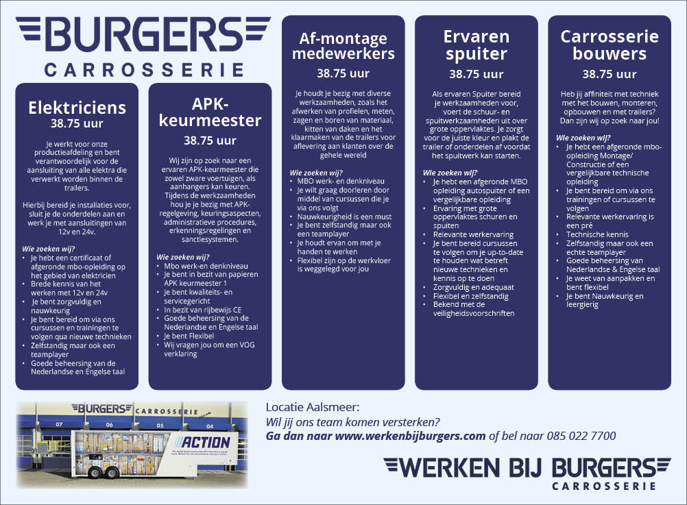 Vacature Electriciens