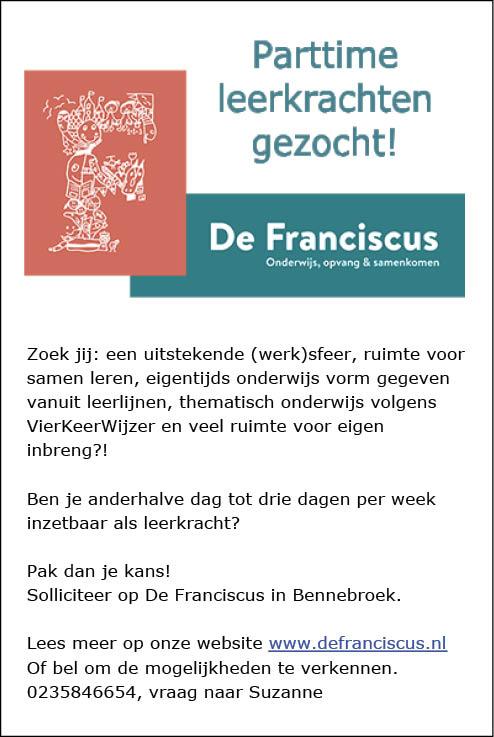 Vacature Leerkracht