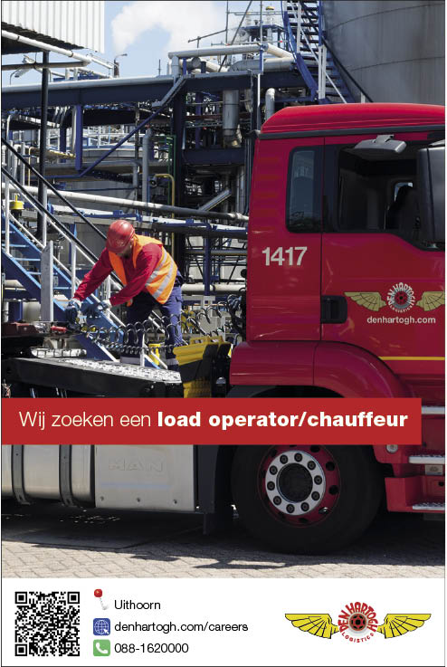 Vacature Load operator / chauffeur