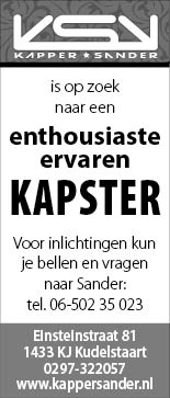 Vacature Kapster