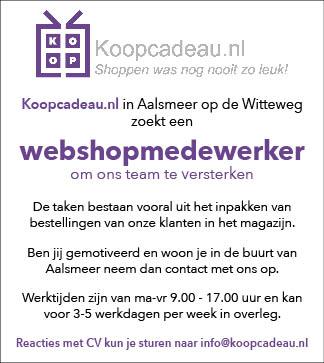 Vacature Webshopmedewerker