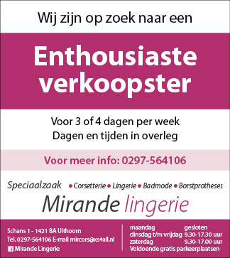 Vacature Enthousiaste verkoopster