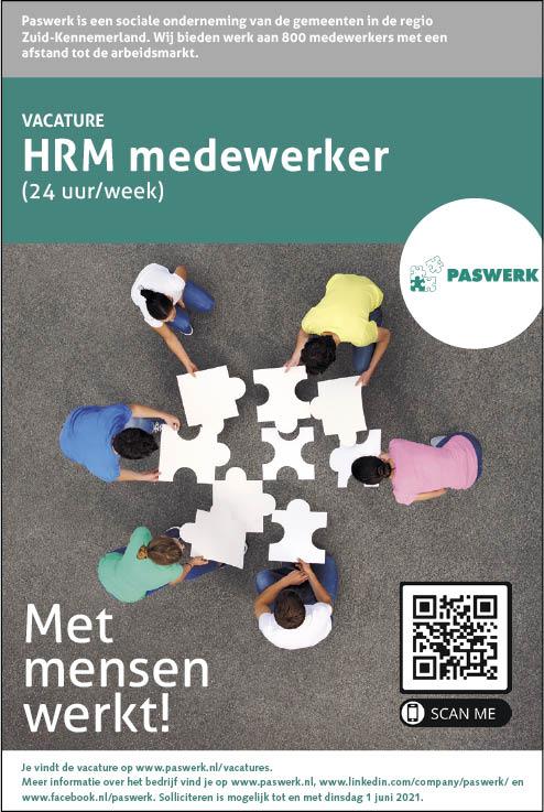 Vacature HRM Medewerker