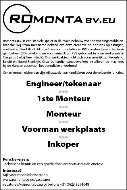 Vacature Engineer/Tekenaar