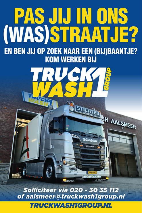 Vacature Truck Washer