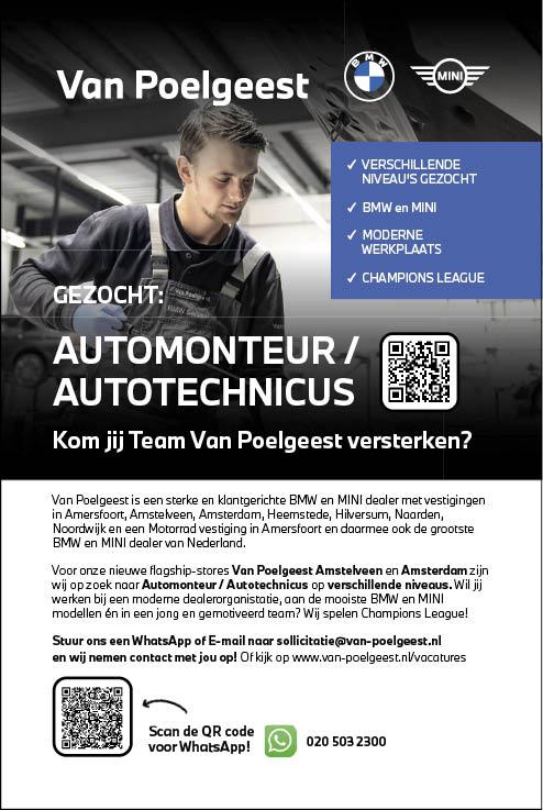 Vacature Automonteur/autotechnicus