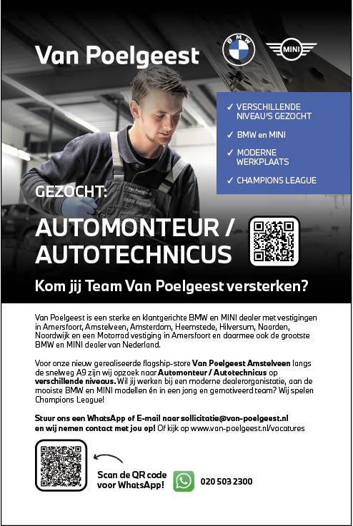 Vacature Automonteur / Autotechnicus