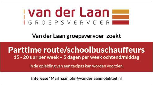 Vacature Route/schoolbuschauffeur