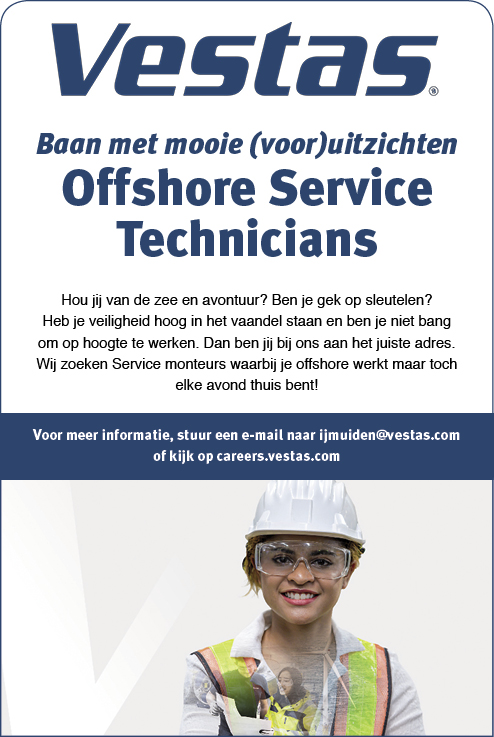 Vacature Offshore Service Technician